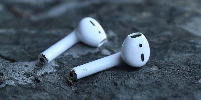 Bluetooth対応airpodの画像