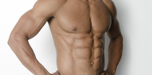 腹筋ローラーの使い方と効果(割れた腹筋)