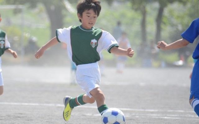子どもの筋トレ(サッカー)