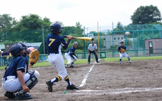子どもの筋トレ(野球)