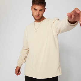 キープウォームクルースウェットシャツのサイズ