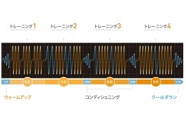 sixpadのプログラム(画像引用元:MTG)