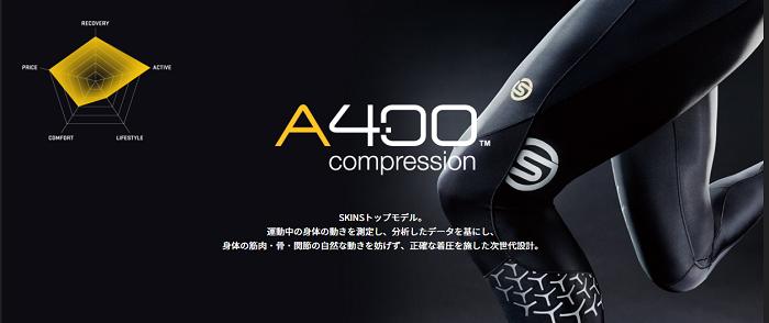 skinsのA400 (画像引用元:skins)